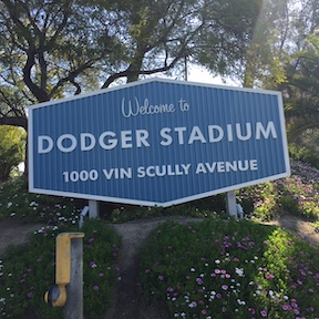 Dodger Stadium Sign