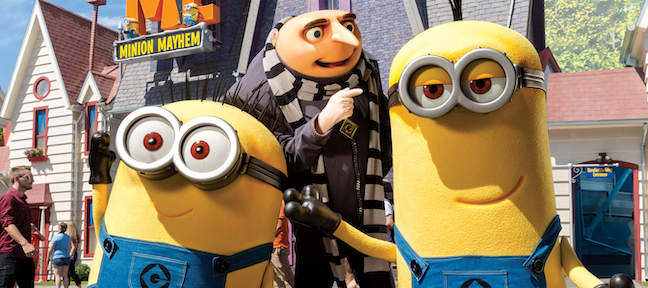 Minons and Gru