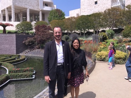 Rev. Tony & Rev. Dusa Althea at The Getty Center