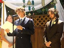 Rev. Rudy Marries Christine and Jason