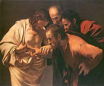 The Incredulity Of St. Thomas – Caravaggio