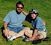 Rev. Paul Marinkovich & Son Gabriel - 2003