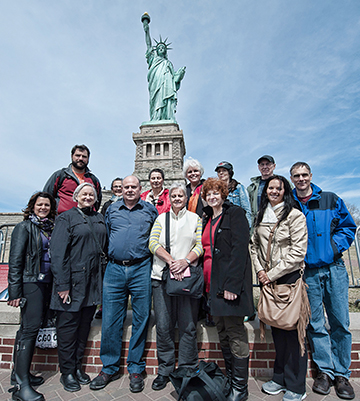 Thursday April 6 2015, Statue of Liberty Excursion