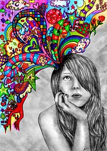 Colorful Art from the Mind