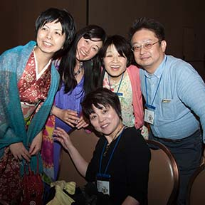 Five of Our Japanese Attendees