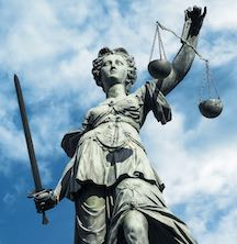 Lady Justice (Not Blind)