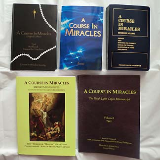 Five Different ACIM Books