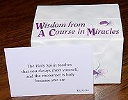 Wisdom From ACIM Cards